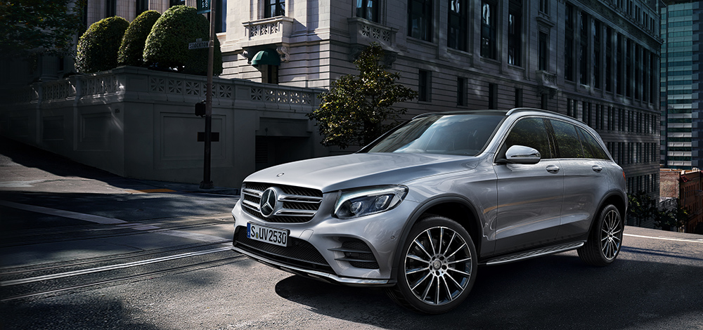 The New GLC-Class In Its elements of any Terrains